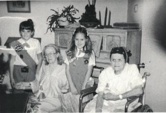 Suzanne & Tasha Convalescent home
