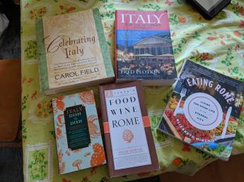 food books italy